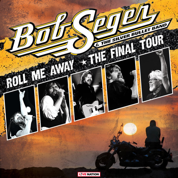 None -   See Bob Seger & The Silver Bullet Band at the Raising Cane's River Center 10/10!