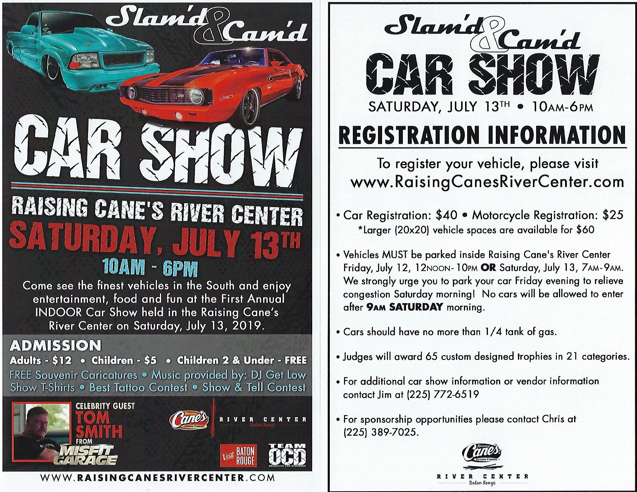 Go to the Slam'd & Cam'd Car Show!