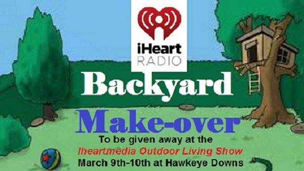 None - Iheartmedia Backyard Makeover