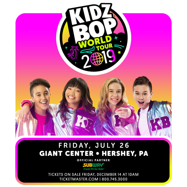 None - Kidz Bop at the Hershey Giant Center!