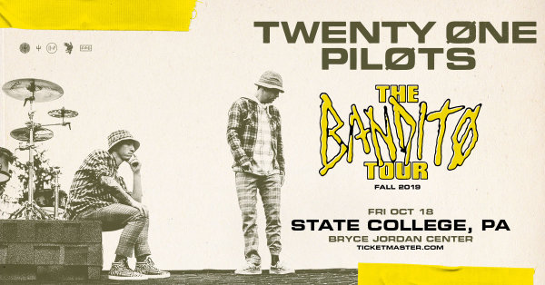 None - Twenty One Pilots live at the BJC on 10/18!