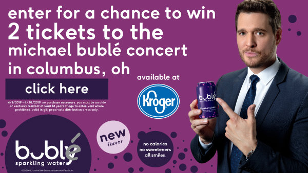 None - Win tickets to see Michael Buble and $500 Visa Card!