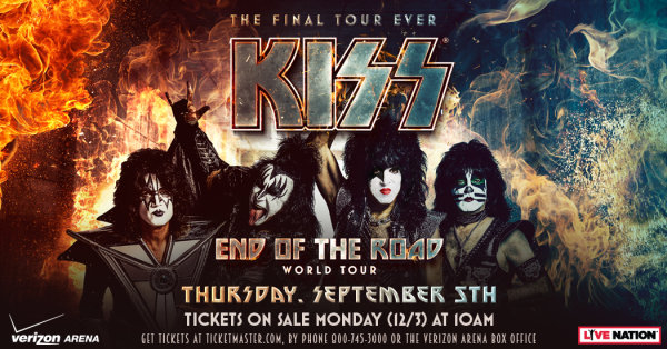 None - Win tickets to KISS in Little Rock!