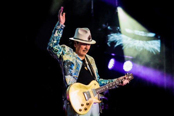 None - Win a pair of tickets to see Santana at The AMP!