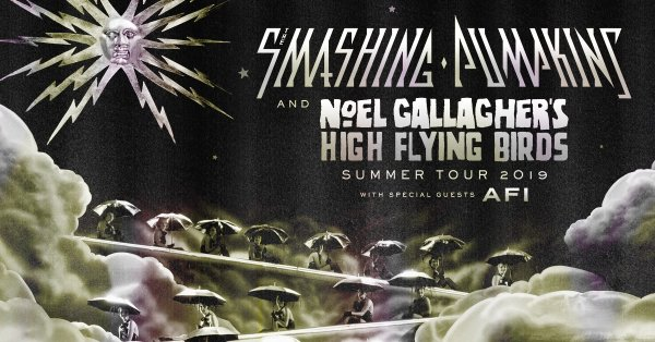 None - Win tickets to the Smashing Pumpkins and Noel Gallagher's High Flying Birds Summer Tour at the Walmart AMP!