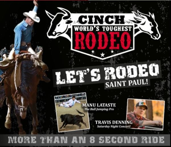 None - Win a pair of tickets to the World's Toughest Rodeo!