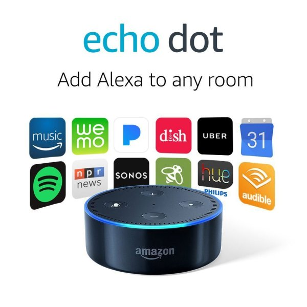 None - Register for your chance to win an Amazon Echo Dot!