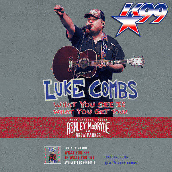 None - Win Tickets to see Luke Combs at the American Bank Center, April 24, 2020!