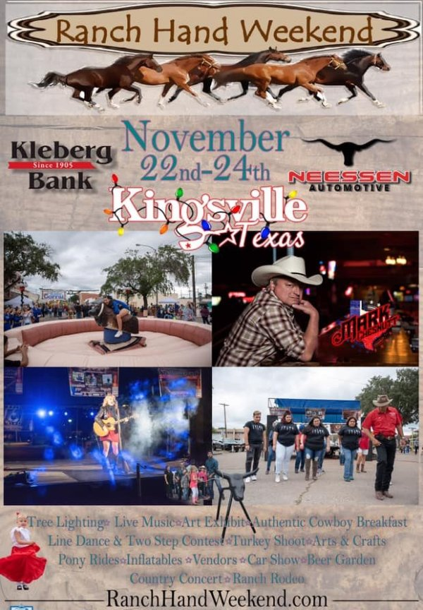 None - Be a VIP at the Ranch Hand Weekend Concert in Kingsville