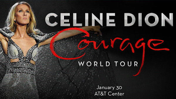 None -  Win a pair of tickets to see Celine Dion at the AT&T Center on January 30th!