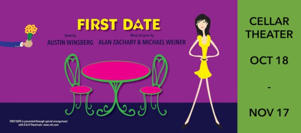 None - Win a pair of tickets to see First Date at the Public Theater of San Antonio!