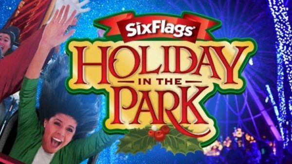 None - Win a four pack of single day tickets to Six Flags Fiesta Texas Holiday in the Park!