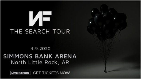 image for Win Tickets To NF At Simmons Bank Arena!