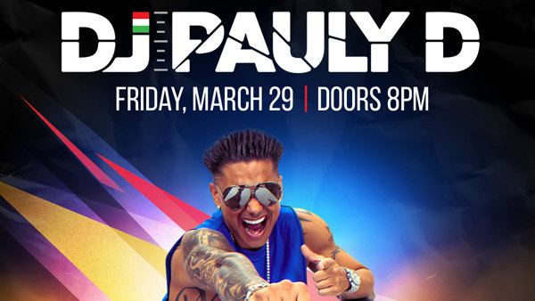 None - Win Tickets to see DJ Pauly D!