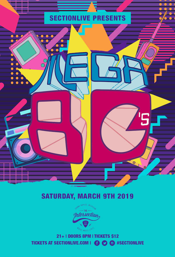 None - Win Tixs To Mega 80's @ Intersection!