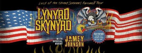None - WIN Lynyrd Skynyrd: Last Of The Street Survivors Farewell Tour Tix!