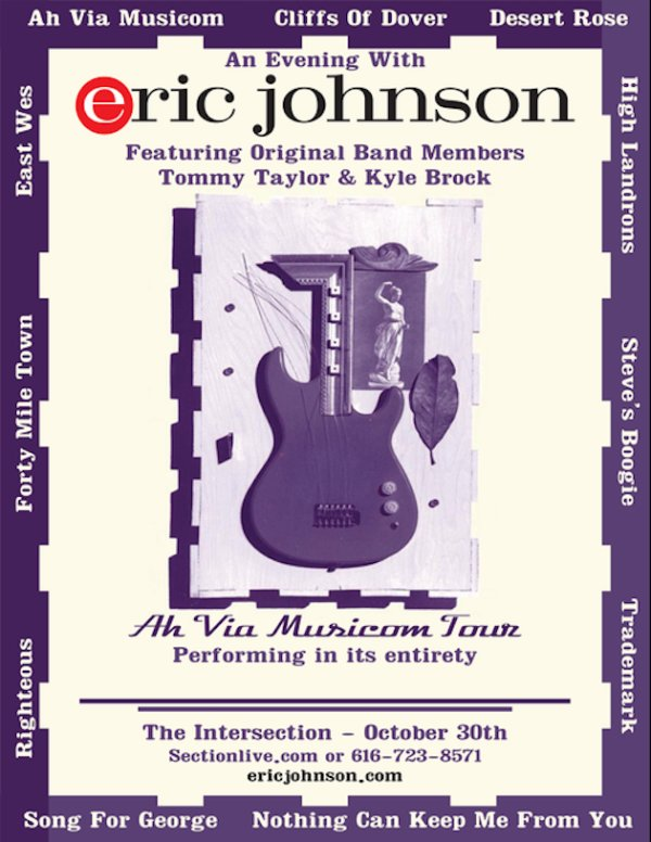 None - WIN Tickets To Eric Johnson @ the Intersection!
