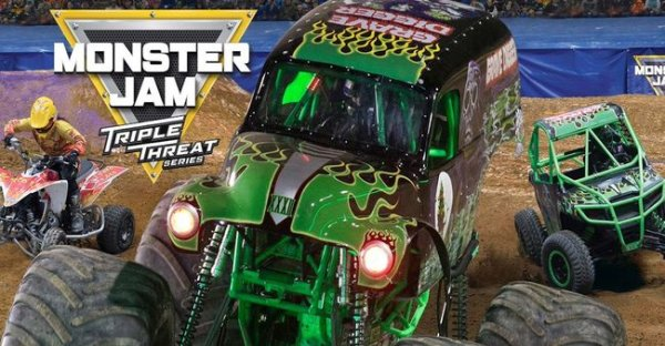None - WIN Monster Jam Tickets For The Van Andel Arena!