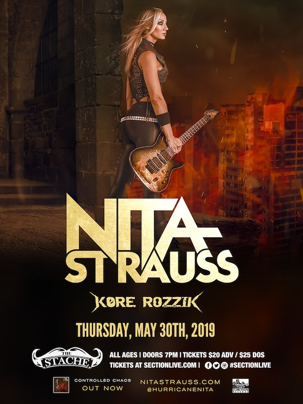 None - WIN Tickets To See Nita Strauss w/ Kore Rozzik @ Intersection