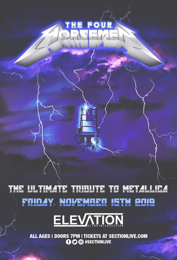 None - Win The Four Horsemen – The Ultimate Tribute to Metallica Tickets!