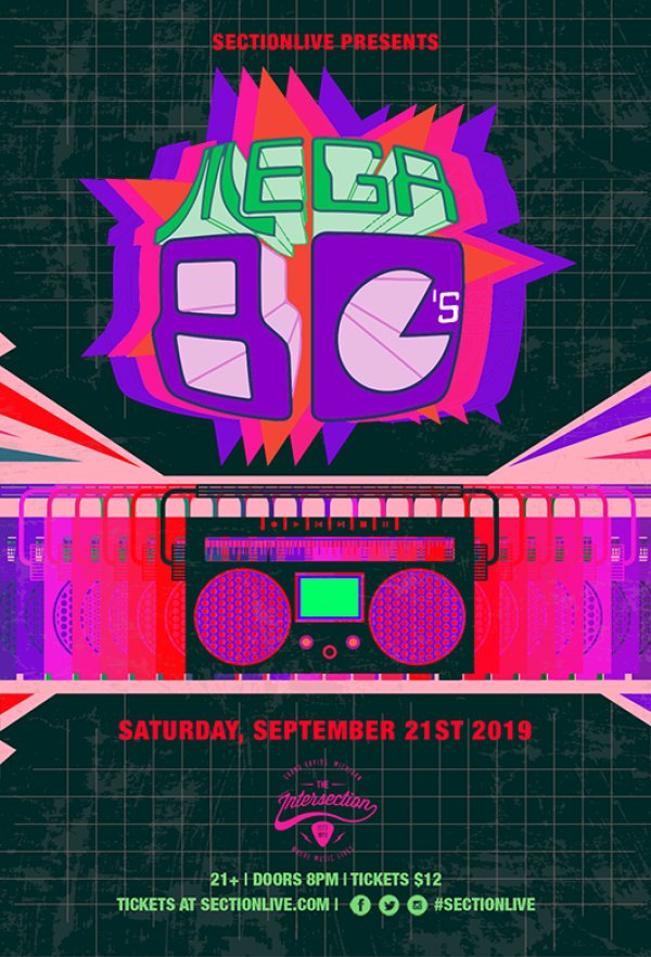 None - Get On The Guestlist For Mega 80's @ The Intersection!