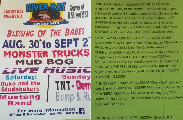 None - Blessing of the Babes Labor Day Weekend Event Tickets