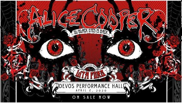 None - Win Alice Cooper @ DeVos Place Tickets!