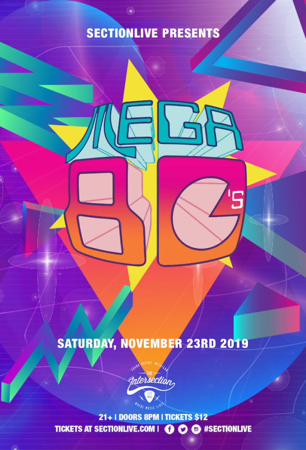 None - Get On Our Mega 80's Guest List!
