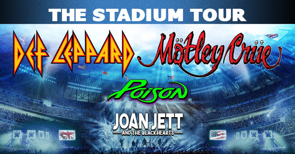 None - Win Tickets to Def Leppard & Motley Crue /wsg Poison & Joan Jett & The Blackhearts!
