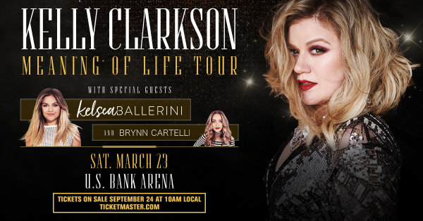 None - Kelly Clarkson at US Bank Arena!