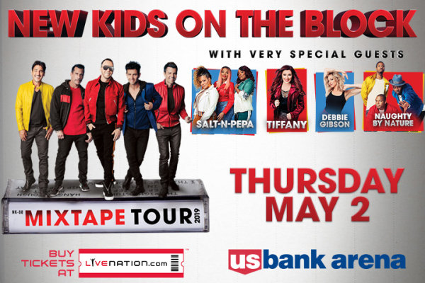 None -  NEW KIDS ON THE BLOCK at US Bank Arena!
