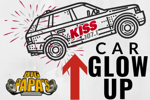 None - Kiss 107.1 car GLOW UP with Big Papa's Car Audio!