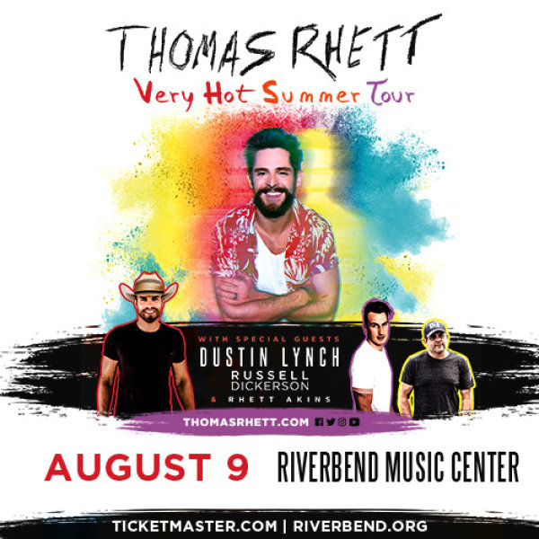 None - Thomas Rhett at Riverbend Music Center!