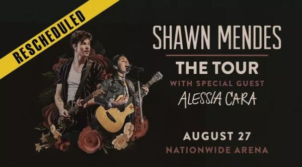None - Shawn Mendes: The Tour at Nationwide Arena!