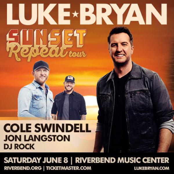 None - Luke Bryan at Riverbend Music Center!
