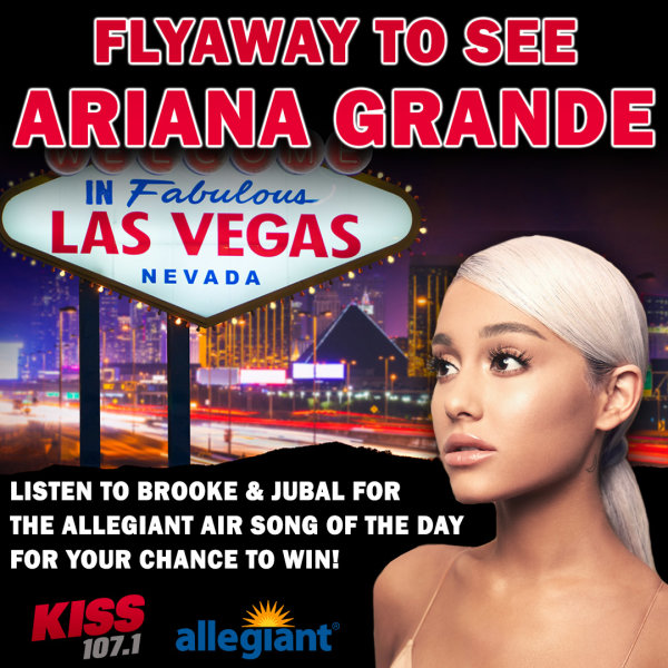None - Flyaway to see Ariana Grande in Las Vegas thanks to Allegiant Air!