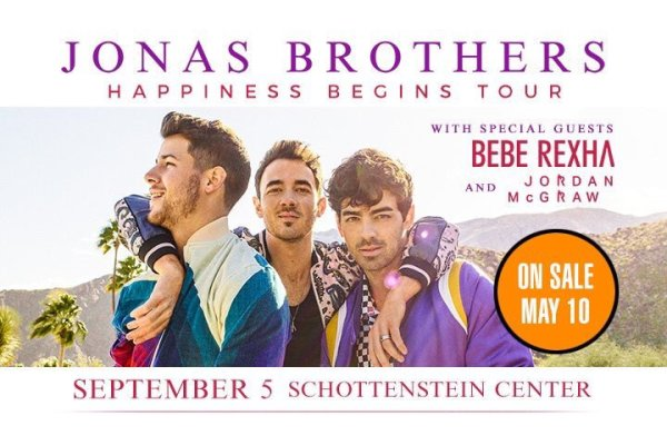 None -  Win a pair of tickets to see Jonas Brothers with Bebe Rexha in Columbus!