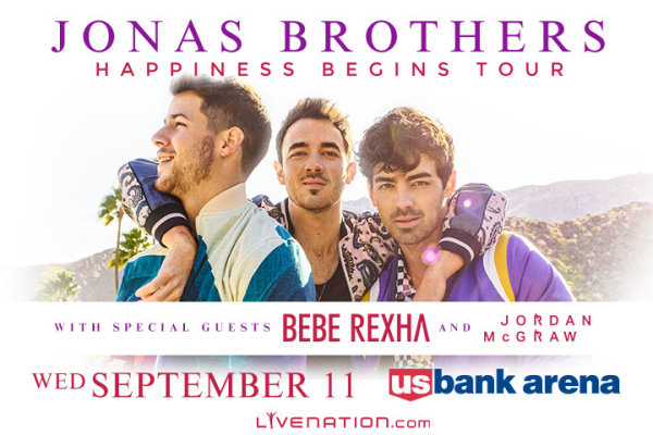 None - Win tickets to see Jonas Brothers at US Bank Arena!