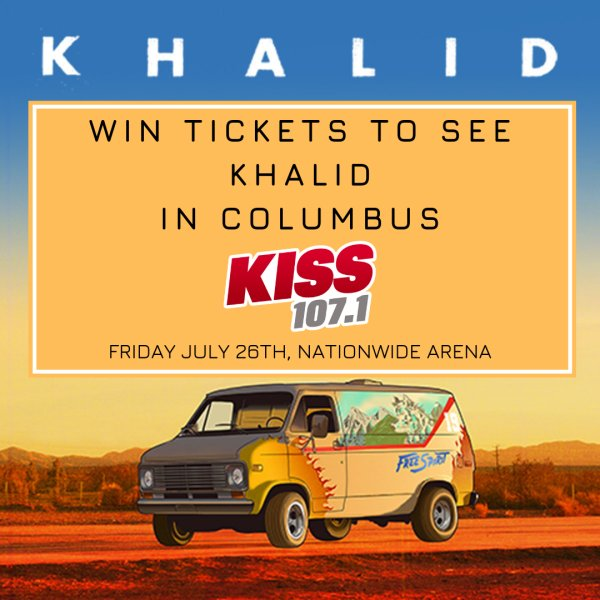None - Win tickets to see Khalid in Columbus!