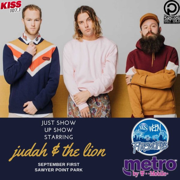 None - Meet Judah & the Lion at our 2019 Just Show Up Show!