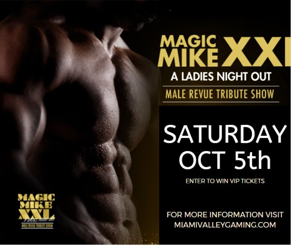 None - Win a 4 pack of tickets to Magic Mike XXL on Saturday OCT 5th