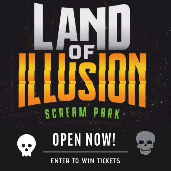 None - Win a 4-Pack of tickets to Land of Illusion!