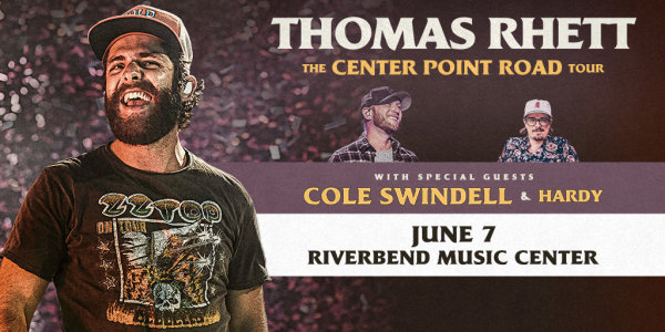 None - Win tickets to see Thomas Rhett at Riverbend Music Center!