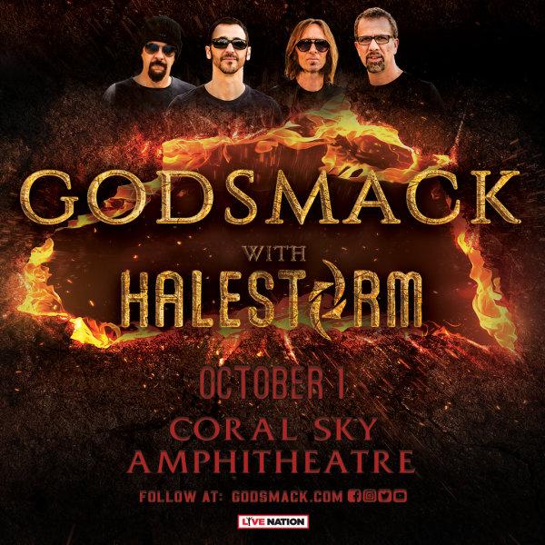 None - Godsmack + Halestorm