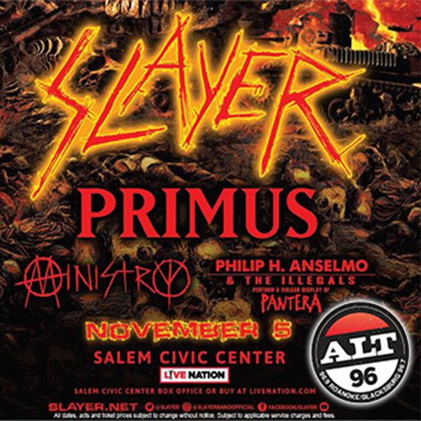 None - Enter to Win Tickets to Slayer: The Final Campaign
