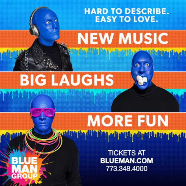 None -  Win a Blue Man Group Prize Pack