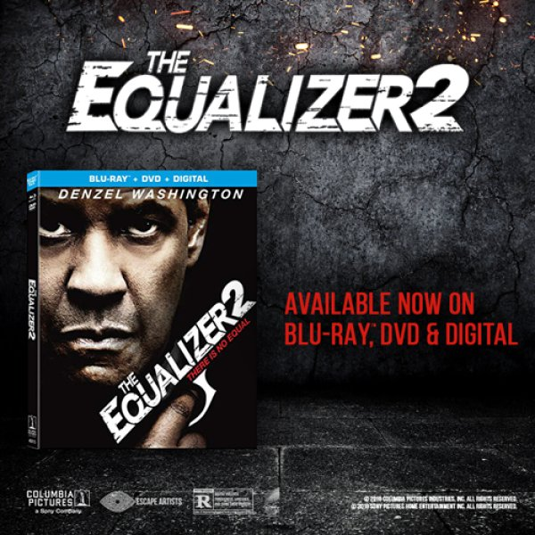 None - Win a copy of The Equalizer 2