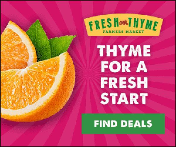 None - Win a $50 Fresh Thyme Farmers Market Gift Card