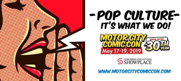 None - Win a pair of tickets to Motor City Comic Con
