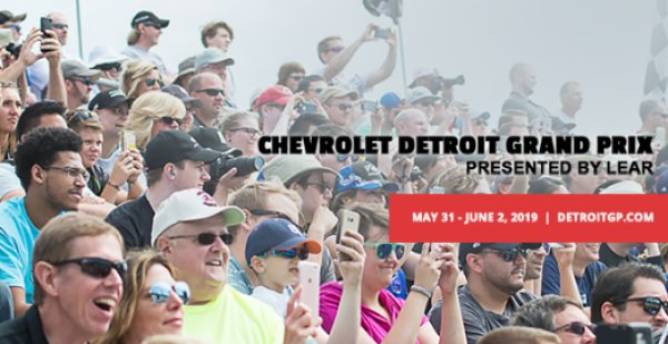 None - Win tickets to the Chevrolet Detroit Grand Prix